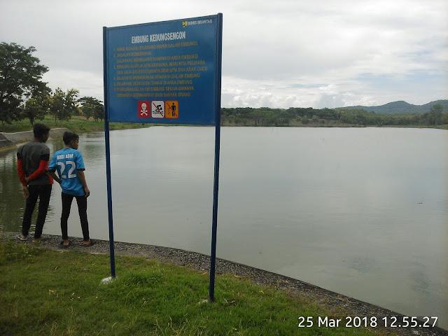 Wisata Nganjuk : Waduk Kedungsengon