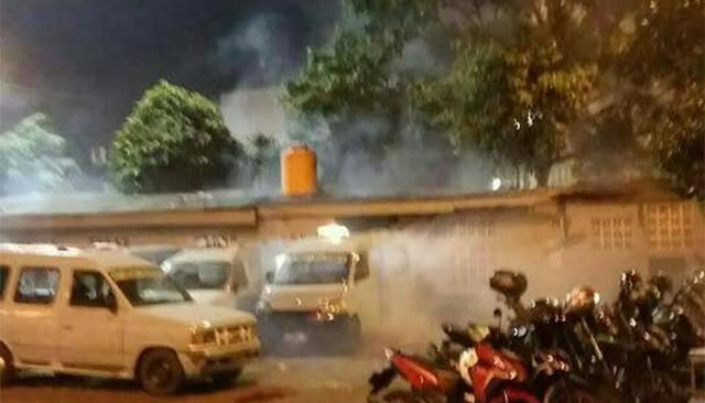 Terjadi Ledakan Diduga Bom di Terminal Kampung Melayu