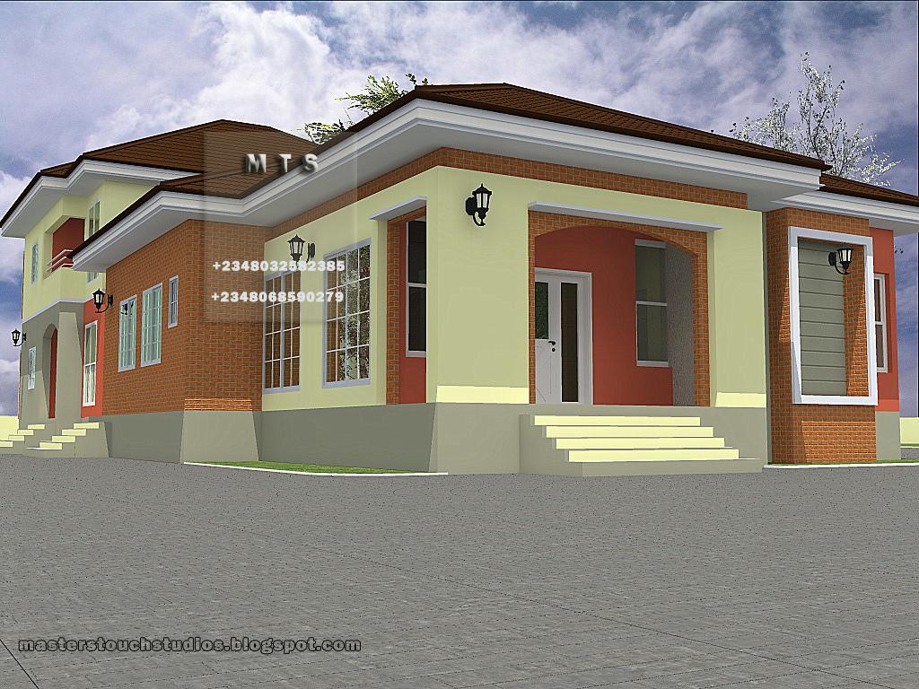 Nigerian Home Design Art 4 Bedroom Bungalow Architectural. Architectural Design  Of 3 Bedroom Flat In Part 56