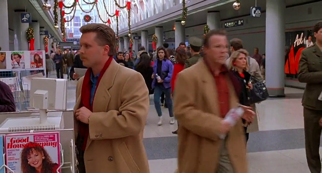 Home Alone 2 airport switcharoo scene