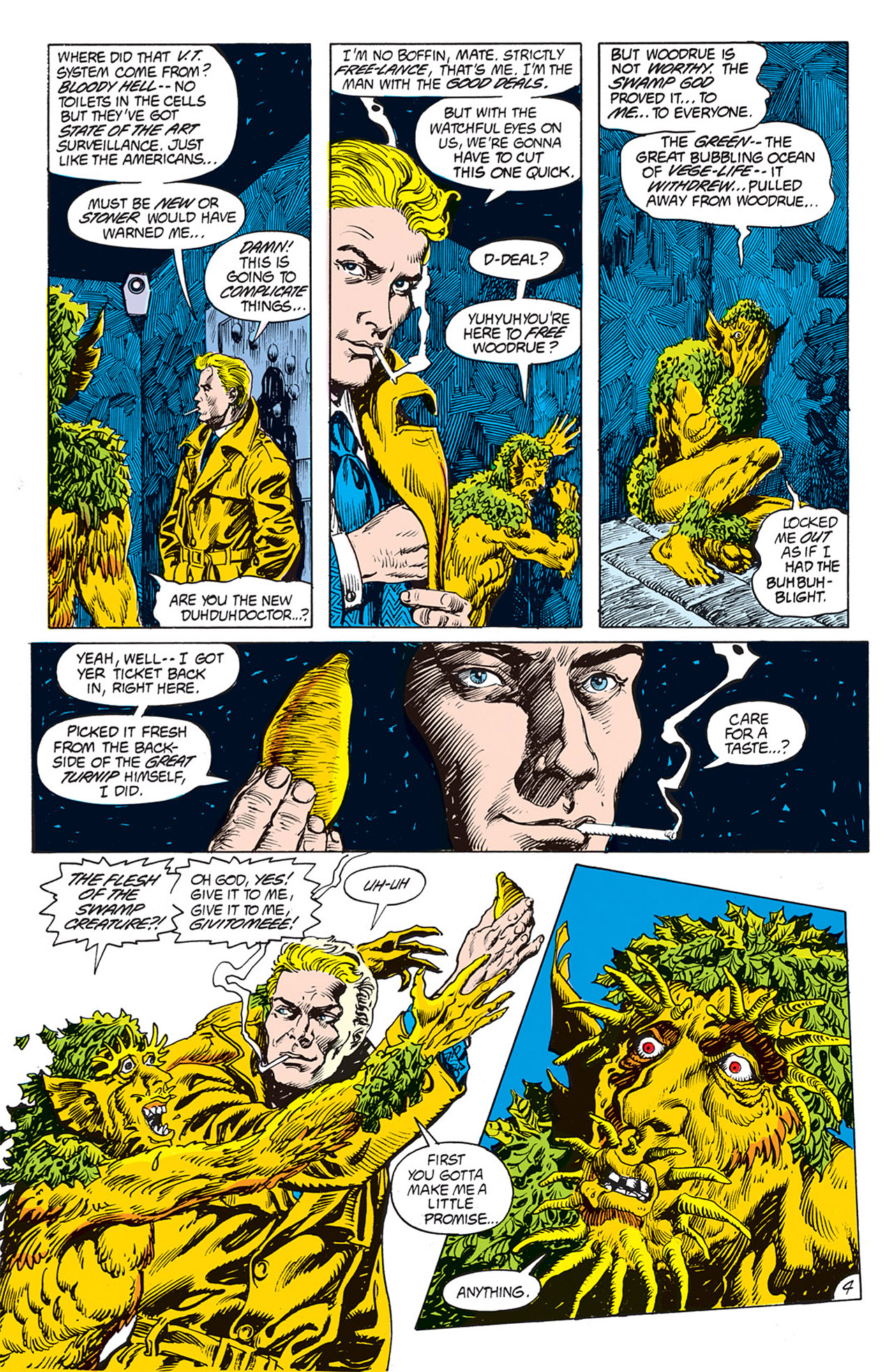 Swamp Thing (1982) Issue #66 #74 - English 4