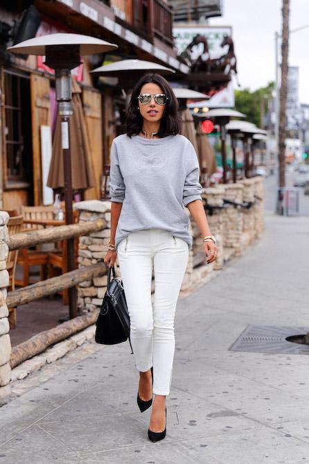 d67339e0d31f Το λευκό παντελόνι είναι η πρώτη επιλογή στην λίστα με τα παντελόνια που  επιλεγούμε για τις καλοκαιρινές αλλά και ανοιξιάτικες εξόδους μας!