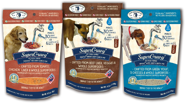 clear conscience pet supergravy flavors