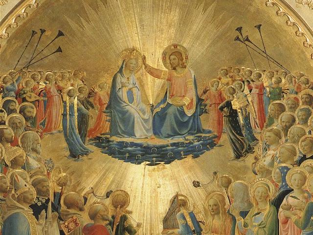 Coroação de Nossa Senhora no Céu, Fra Angelico (1395 – 1455)