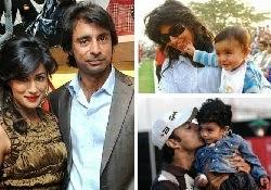 Chitrangada Singh with Jyoti Randhawa & Son