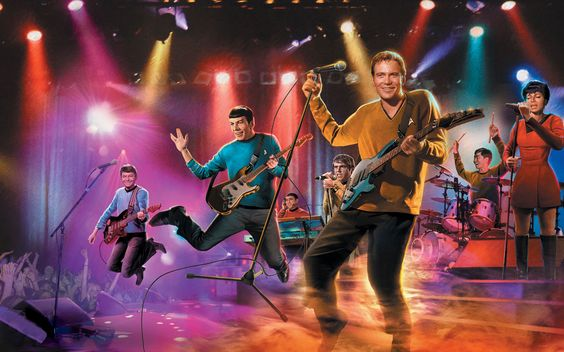 Kirk Spock Rock Band Star Trek randommusings.filminspector.com