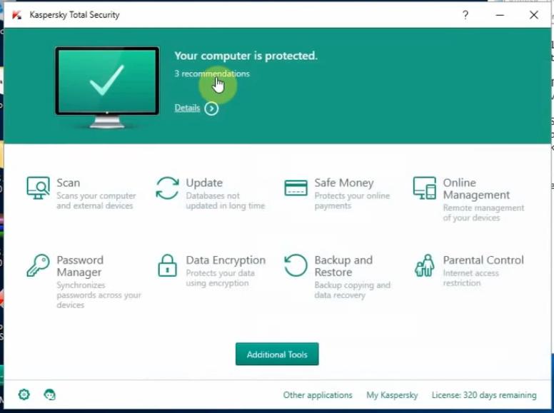 kaspersky total security 2016 download