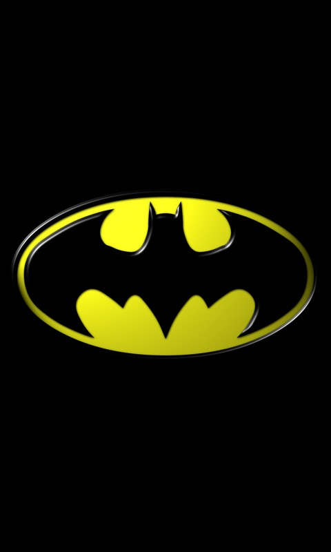 Batman Logo Mobile Phone Wallpaper | 480-800 HD Wallpapers