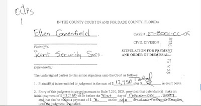 Greenfield v. Kent Security Services of Miami.