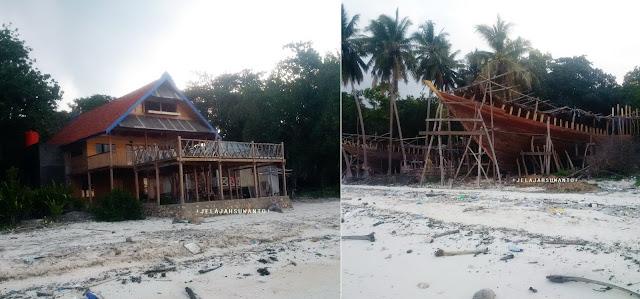 Pantai Mandala Ria: Tempat Pembuatan kapal Pinisi   +fotojelajahsuwanto