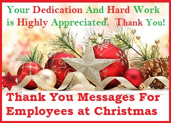 thank you message to employees