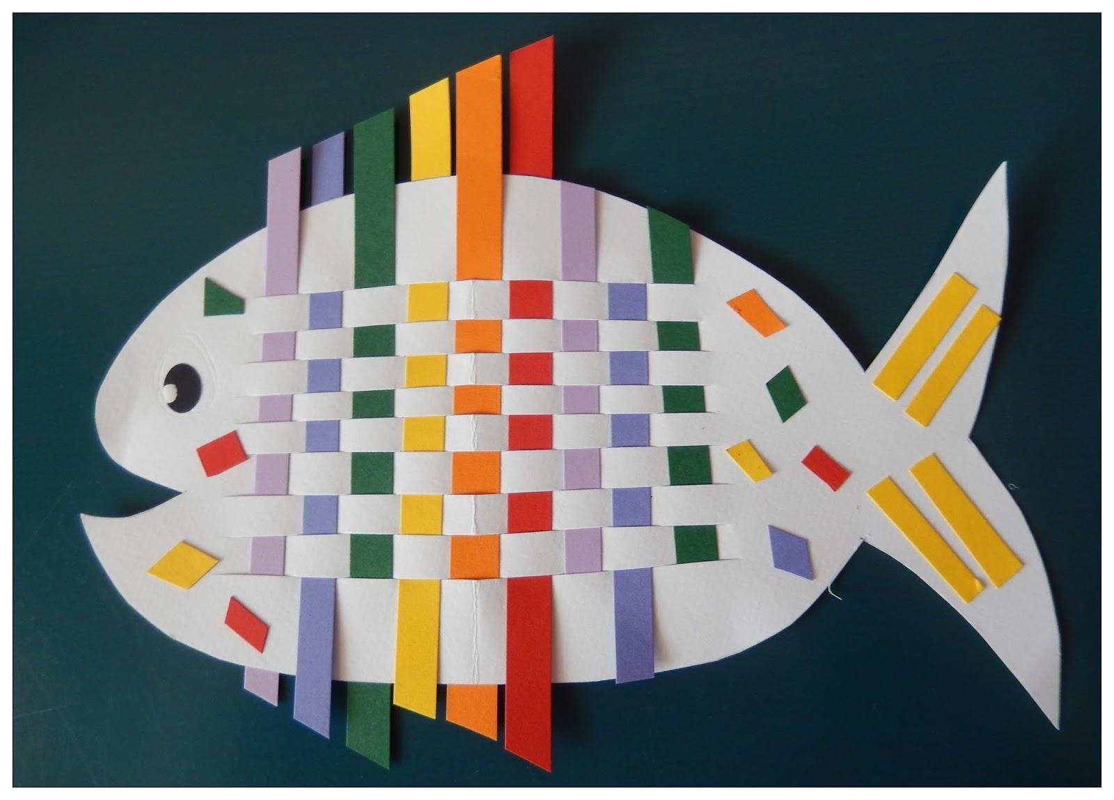 kartenzauber und mehr rainbow fish regenbogenfisch aus papier. Black Bedroom Furniture Sets. Home Design Ideas