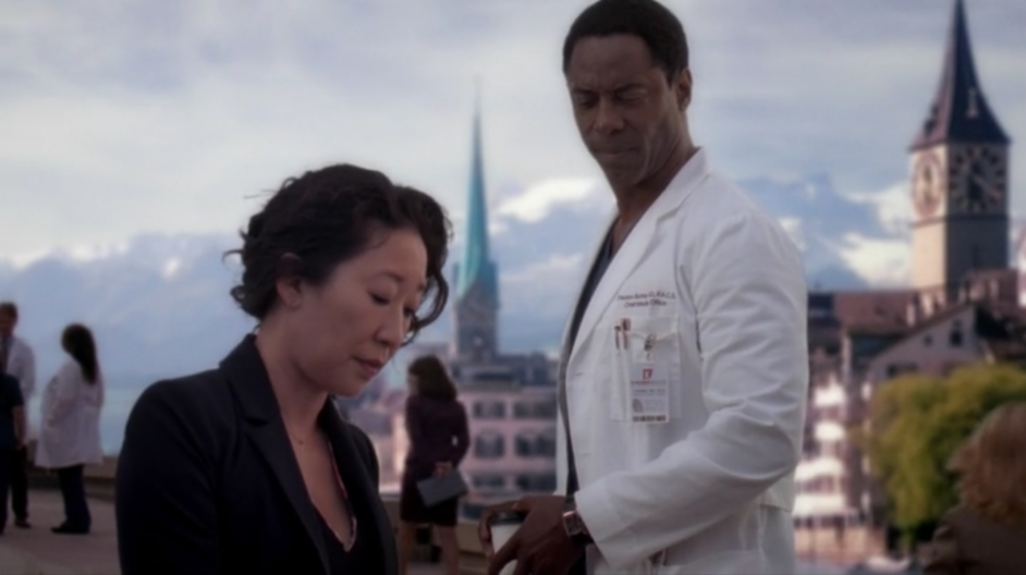 Grey's Anatomy 10x22 Cristina Burke