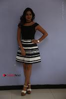 Actress Mi Rathod Pos Black Short Dress at Howrah Bridge Movie Press Meet  0001.JPG