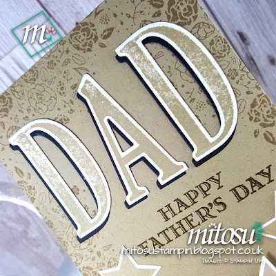 Stampin' Up! Wood Words 2017 2018 Male Card Mitosu Crafts Order Stampinup Online Shop UK 5