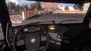 Full Black interior for Volvo 2012