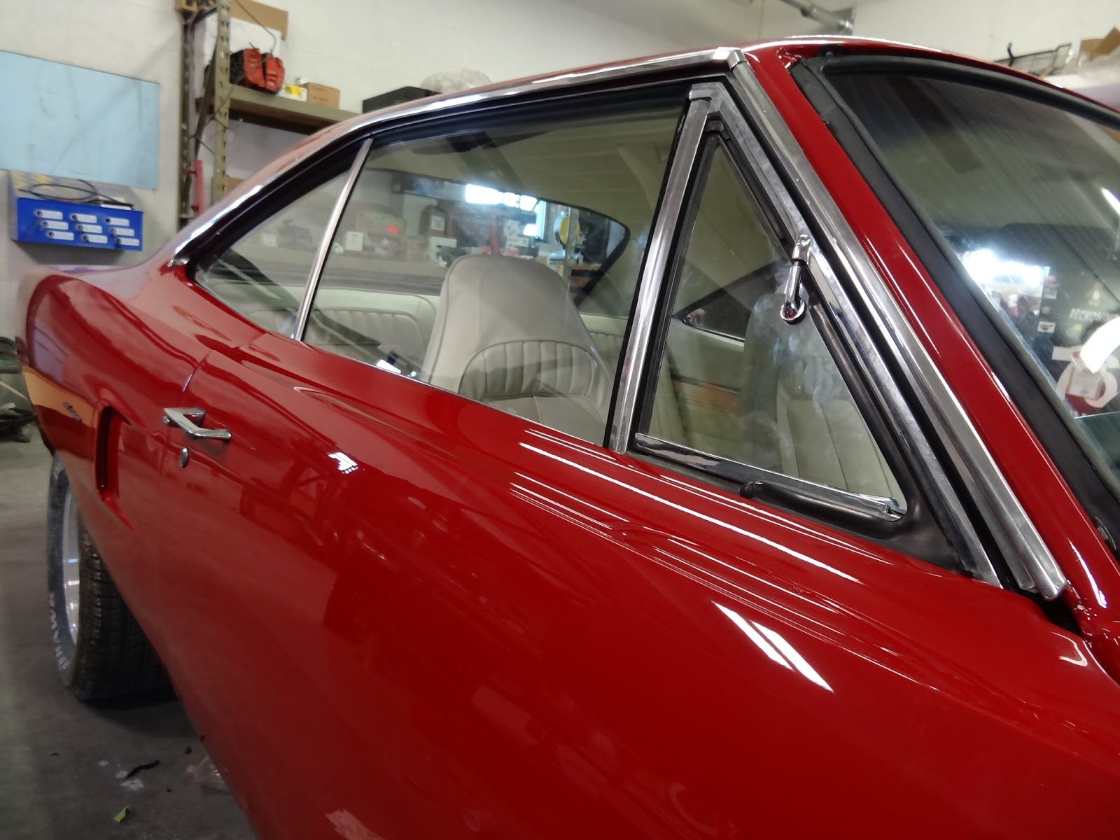 Driven Restorations Mopar Window Repair Replacements 1970 B Body 1968 Plymouth Road Runner Wiring Diagram Door Glass Installation Completed On The And All Gaskets Have Been Fitted For Proper Sealing When Closed