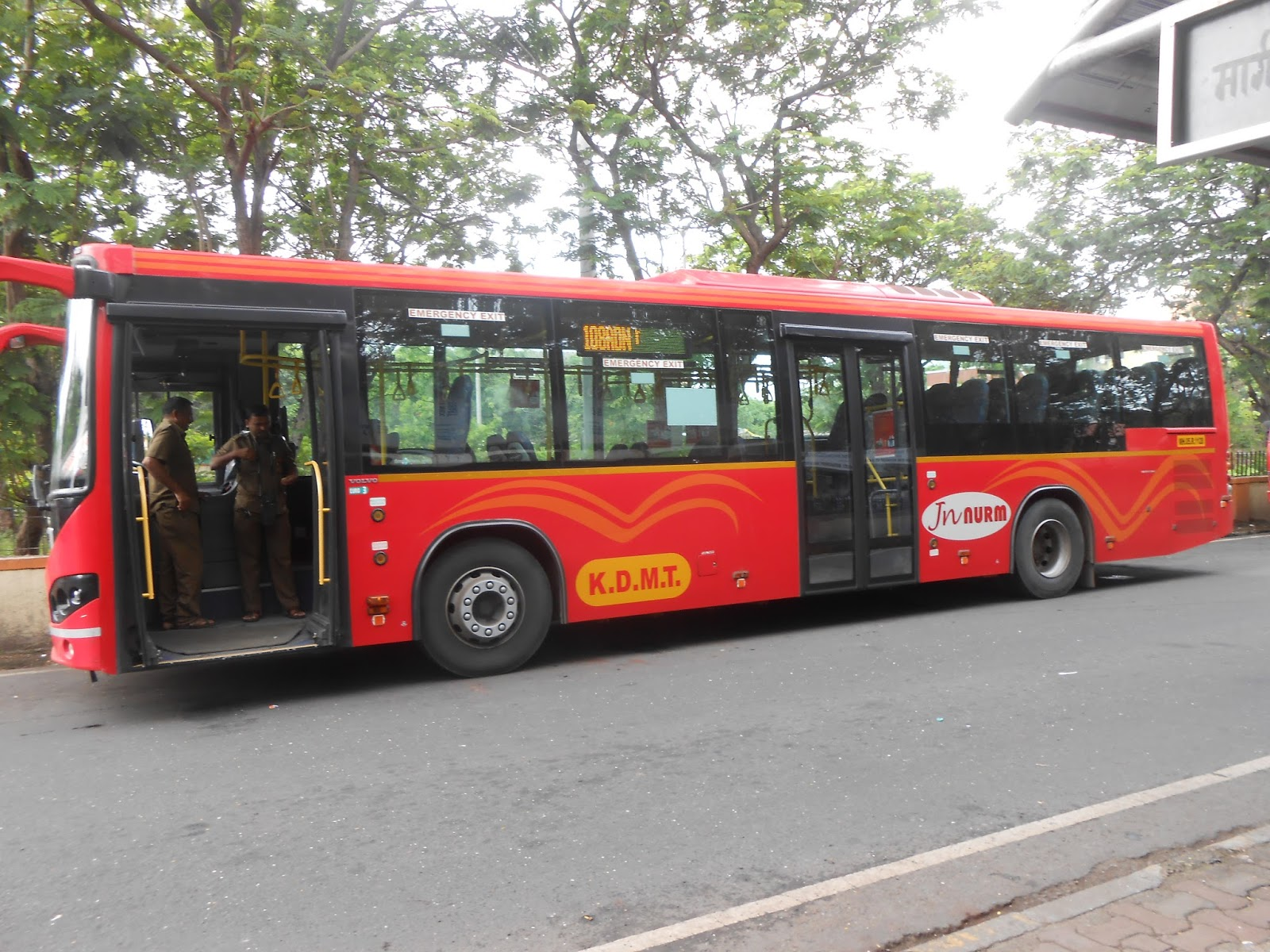 India S Transportation Kdmt Volvo 8400 On Route 108a