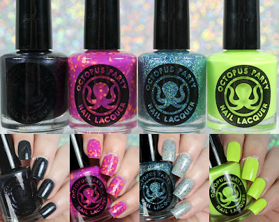 Octopus Party Nail Lacquer Summer 2016