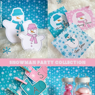 Winter Printable Party Ideas