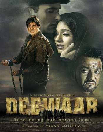 Poster Of Deewaar 2004 Hindi 650MB HDRip 720p ESubs HEVC Watch Online Free Download downloadhub.net