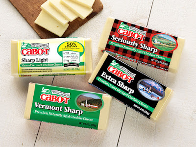 Cabot Cheese Gift Box Giveaway...plus two cheesy good recipes! (sweetandsavoryfood.com)