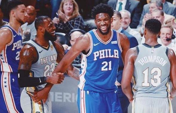 NBA: Joel Embiid veut jouer avec LeBron James la saison prochaine