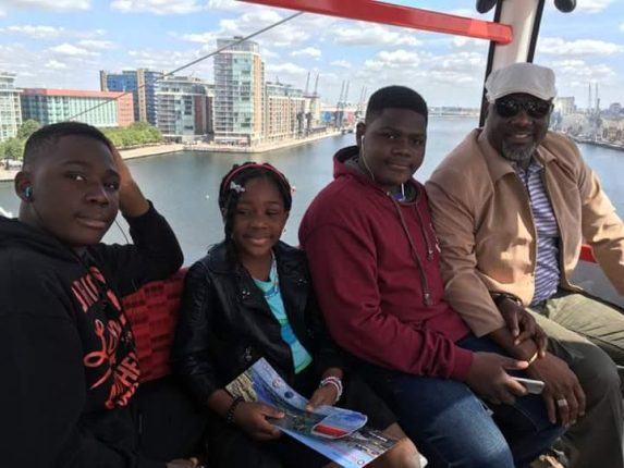 Dino Melaye shares more pics from his summer vacation with his kids