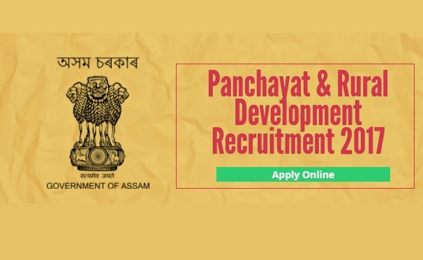 PNRD Assam Recruitment 2017 | 945 Vacancies - Apply Now