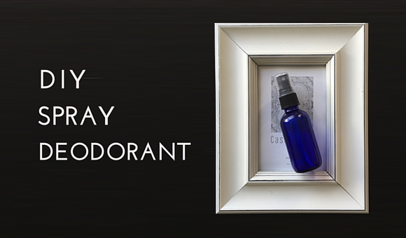 DIY Spray Deodorant