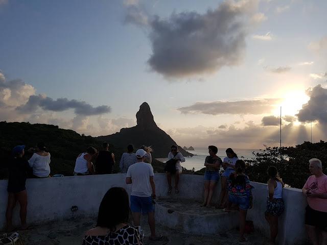 Pôr-do-Sol no Forte Nossa Senhora da Conceição - Fernando de Noronha