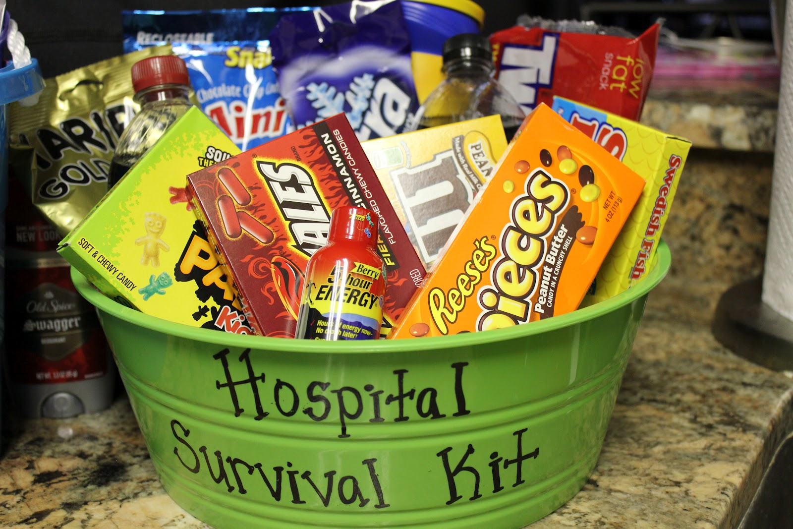 simply made with love: Daddy Survival Kit & Hospital ...