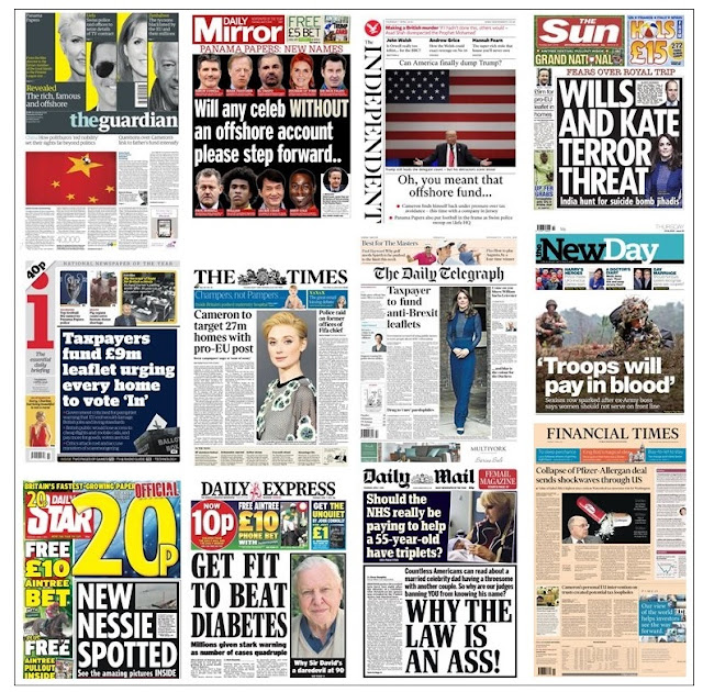 front pages 07-04-16
