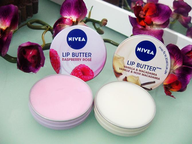 Nivea Lip Butter Vanilla e Macadamia - Framboesa Rosé