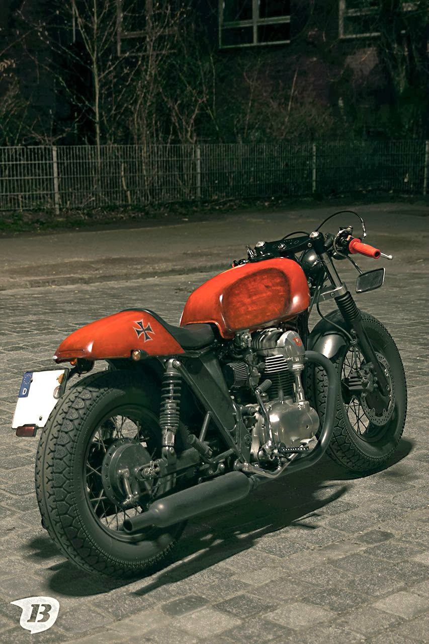 Kawasaki W650 Cafe Racer | Red Baron - way2speed