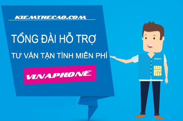 vinaphone, các số tổng đài tư vấn Vinaphone gọi miễn phí 24/7, kiếm thẻ cào, kiếm tiền online