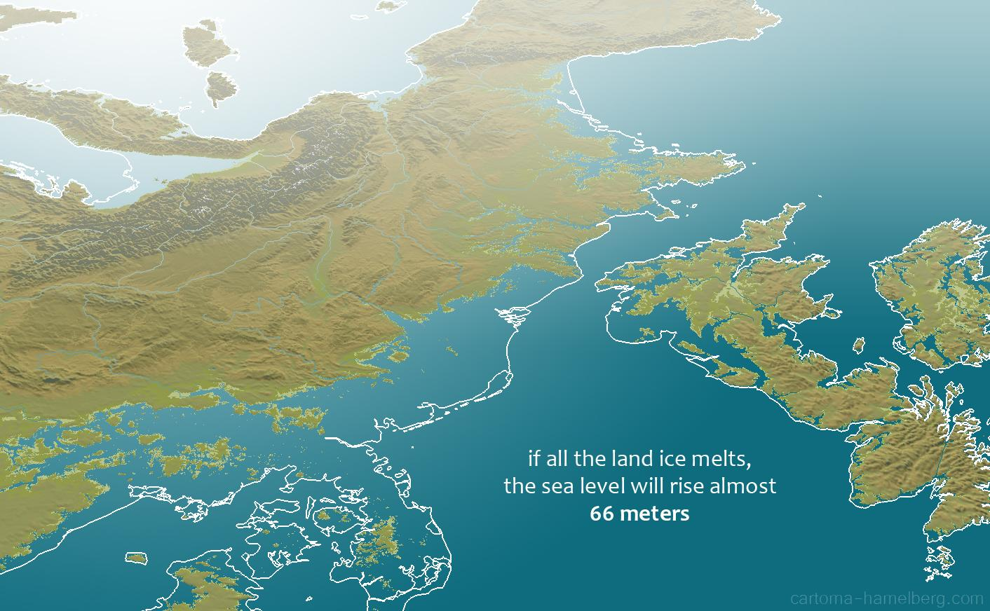 What happens if all the land ice melts?