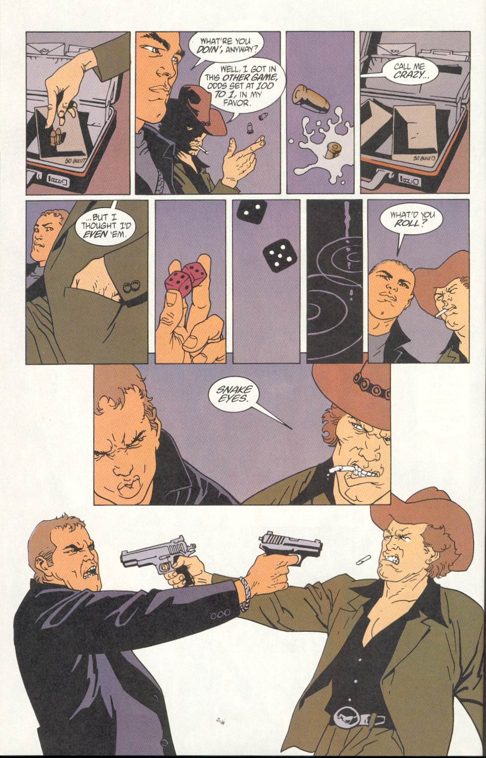 Read online 100 Bullets comic -  Issue #7 - 22