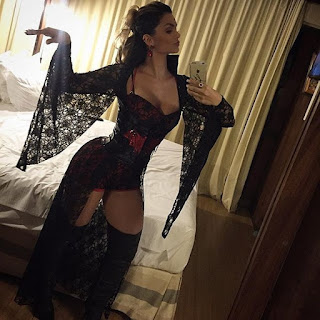 vestida de vampira sexy,