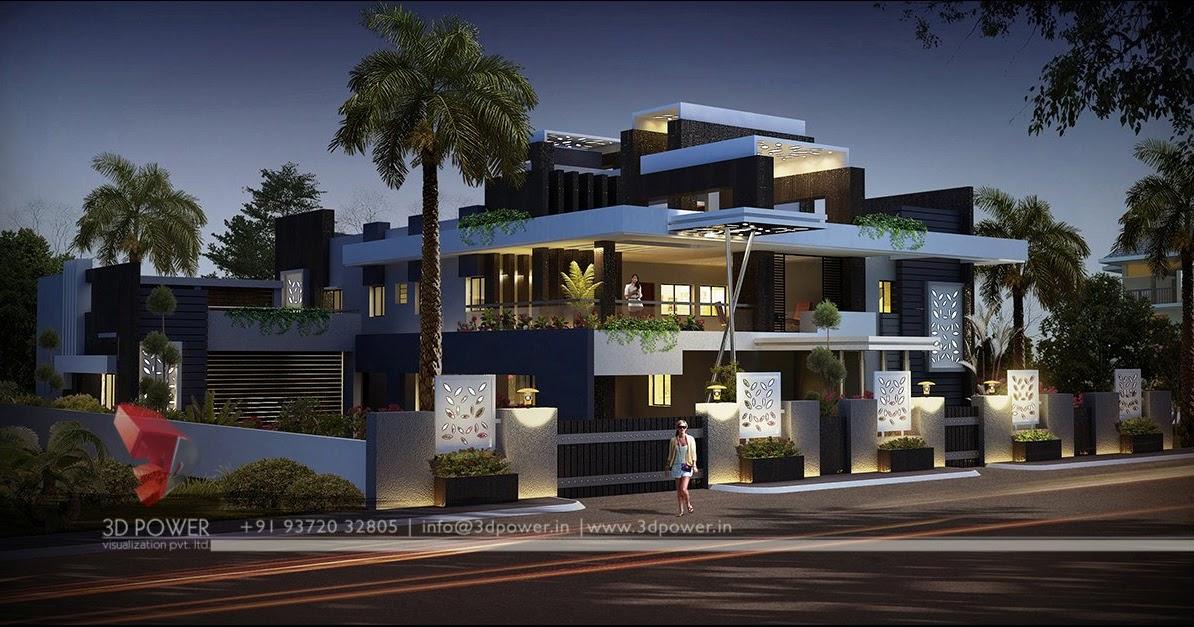 Home Design Minimalist Beautiful Amp Luxurious House Rendering