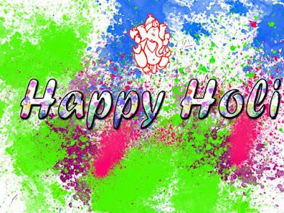 Happy Holi Desktop Wallpaper