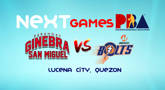 List of PBA Game(s) Friday October 13, 2017 @ Lucena Quezon