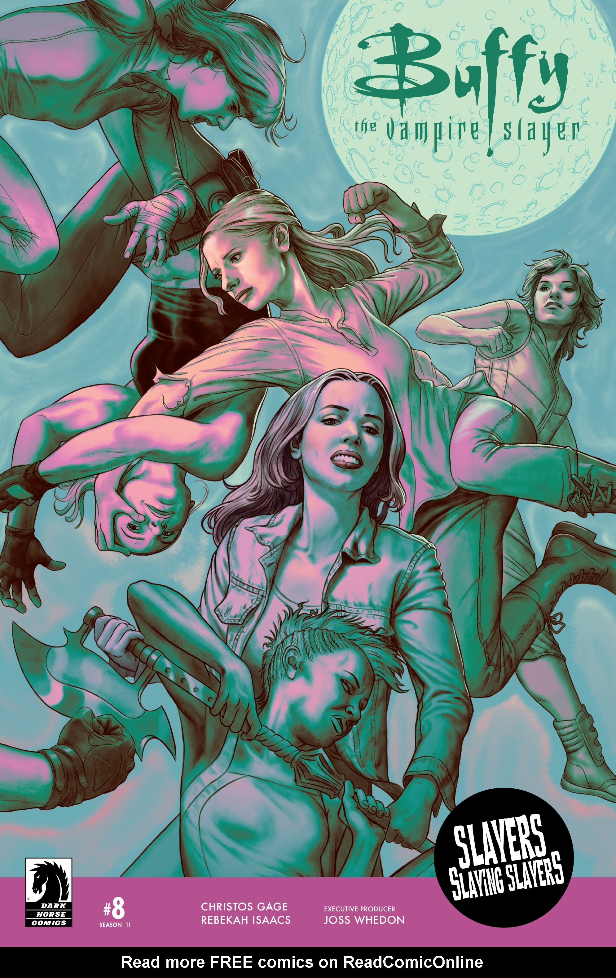 Read online Buffy the Vampire Slayer Season 11 comic -  Issue #8 - 1