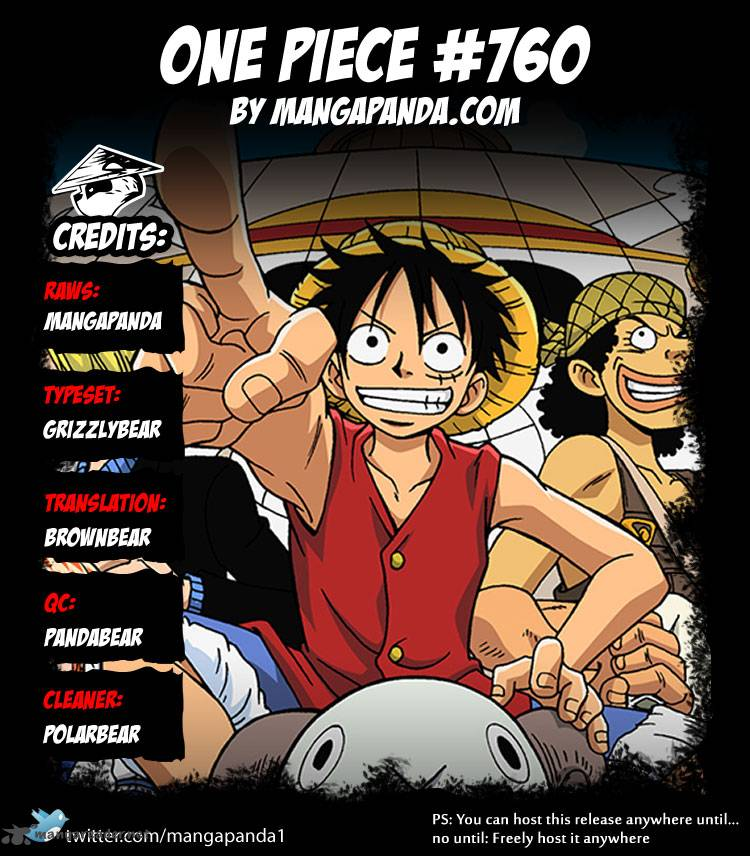 One Piece Ch 760: The Same Bet