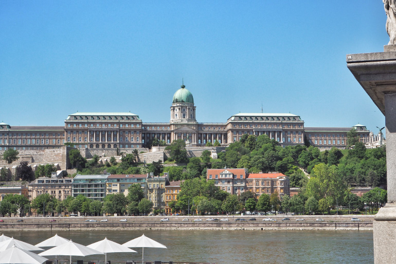 Château de Budavar à Budapest