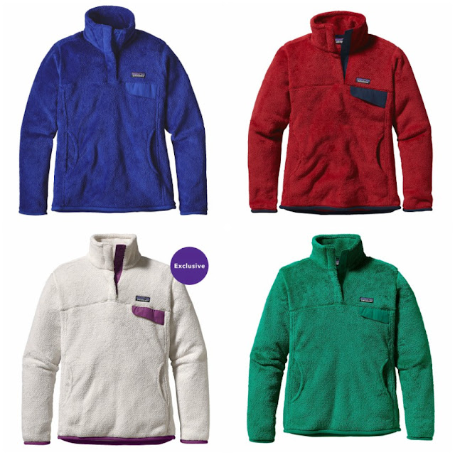 Patagonia: Re-Tool Snap-T Fleece Pullover 50% Off!