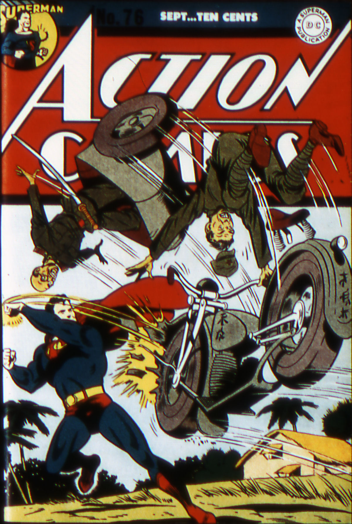 Read online Action Comics (1938) comic -  Issue #76 - 1