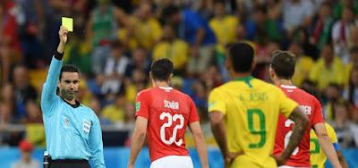Brasil e Suíça empatam em 1 a 1 em jogo com arbitragem contestada
