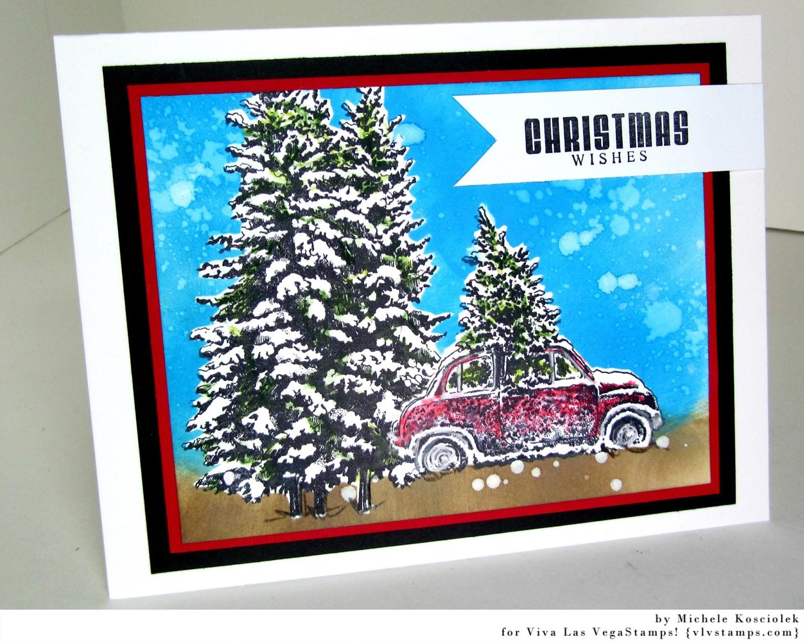 Viva Las VegaStamps!: Sneak Peek at My Christmas Cards