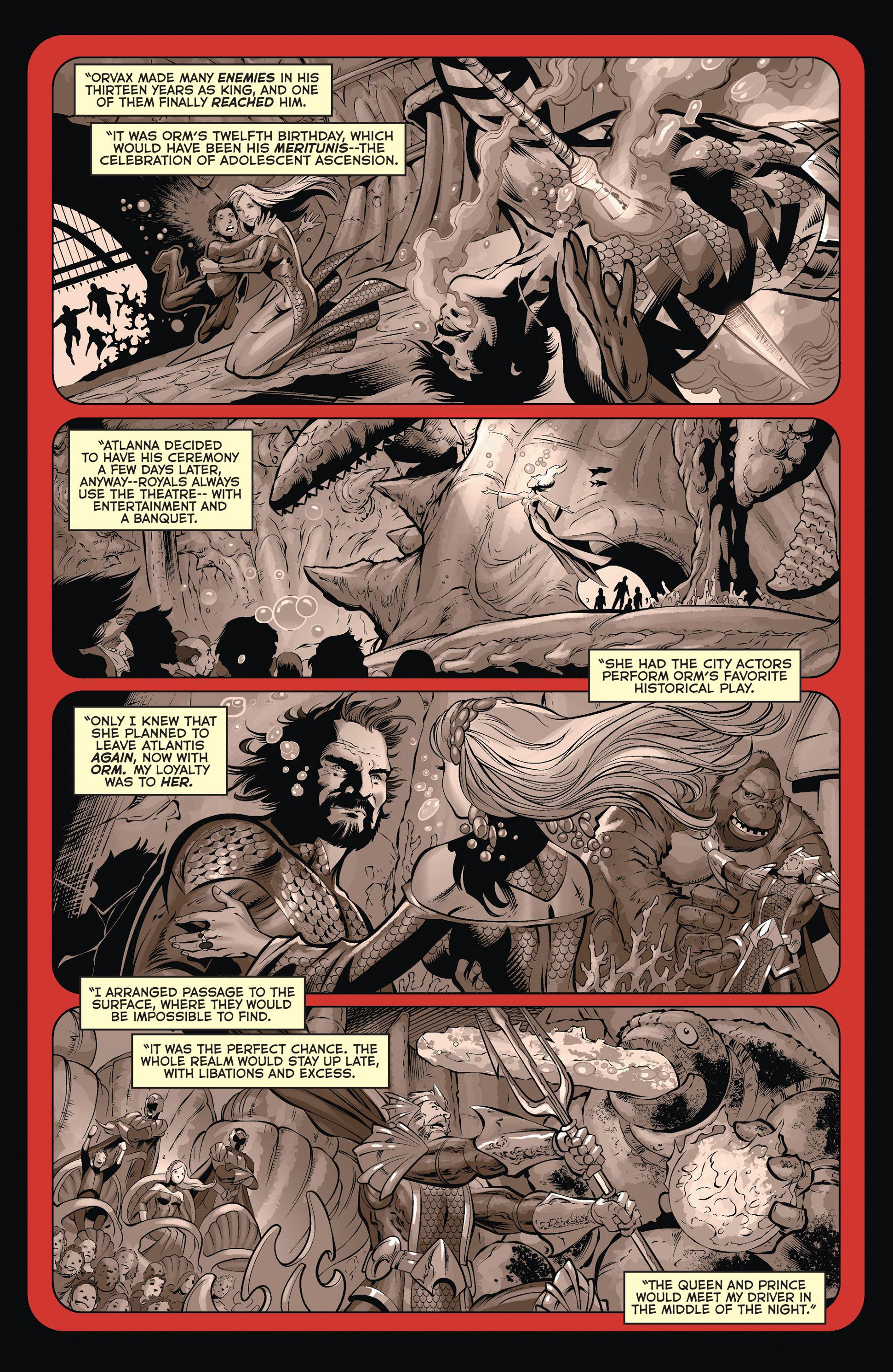 Read online Aquaman (2011) comic -  Issue #36 - 8